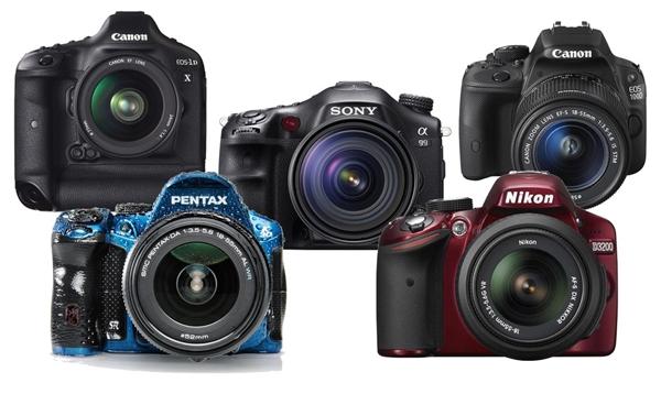 صورة للفئة كاميرات دي أس ال أر